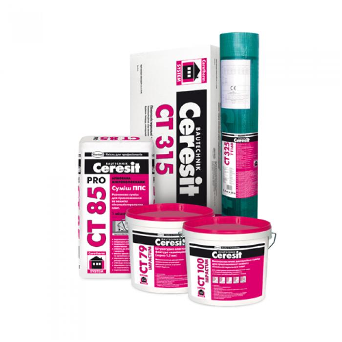 Ceresit Ceretherm Impactum System 100 (decor layer - wet plaster)