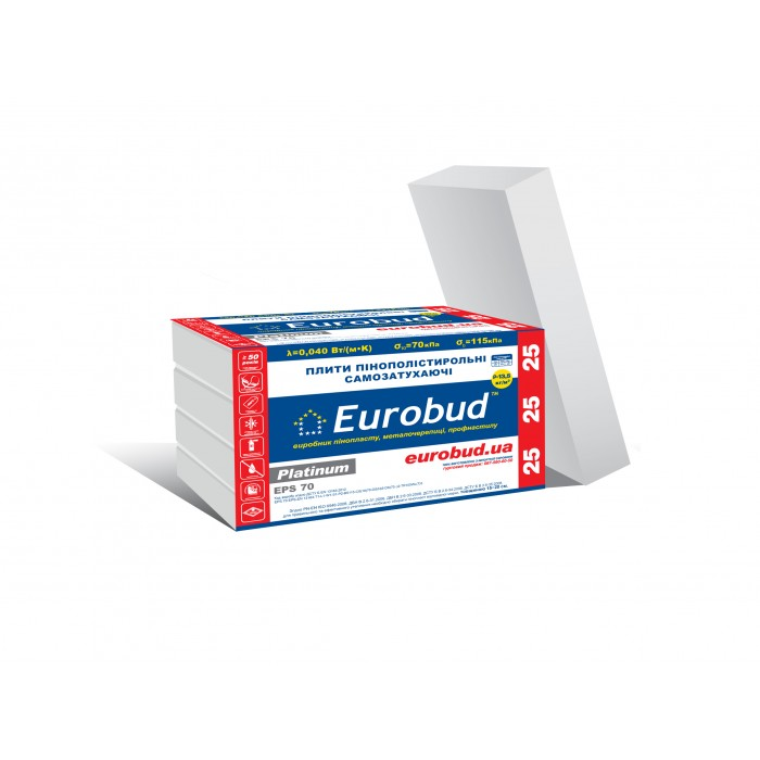 Eurobud 25 Platinum EPS 70 (180 mm)