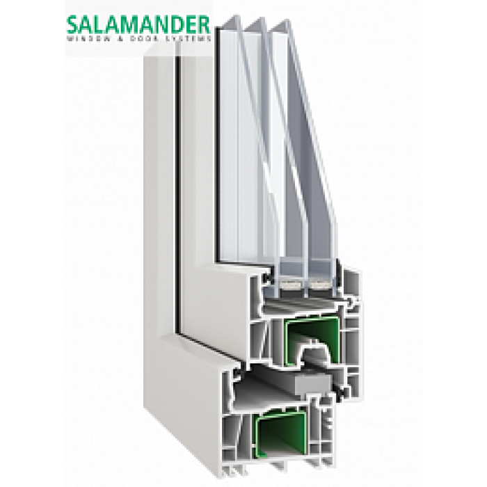 Pvc windows with hight energy performance salamander streamline 4lowe 14 4 14 4lowe - Pvc salamander opinioni ...