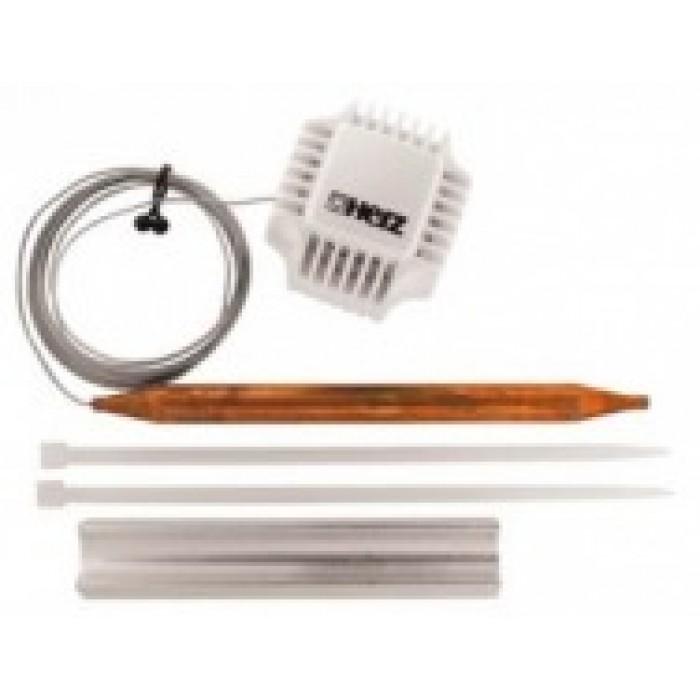 Термостатична головка HERZ з накладним датчиком (для регулювання температури теплоносія в бойлері)
