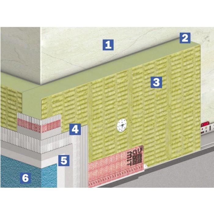 Система теплоізоляції Бауміт Стар (120 мм)