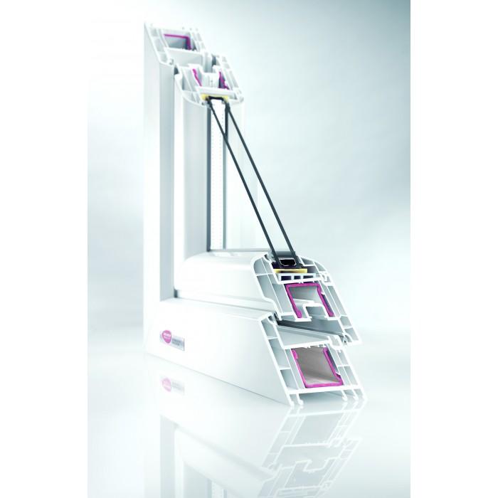 REHAU Brilliant Design 70 / 4-12-4-16Arg-4i