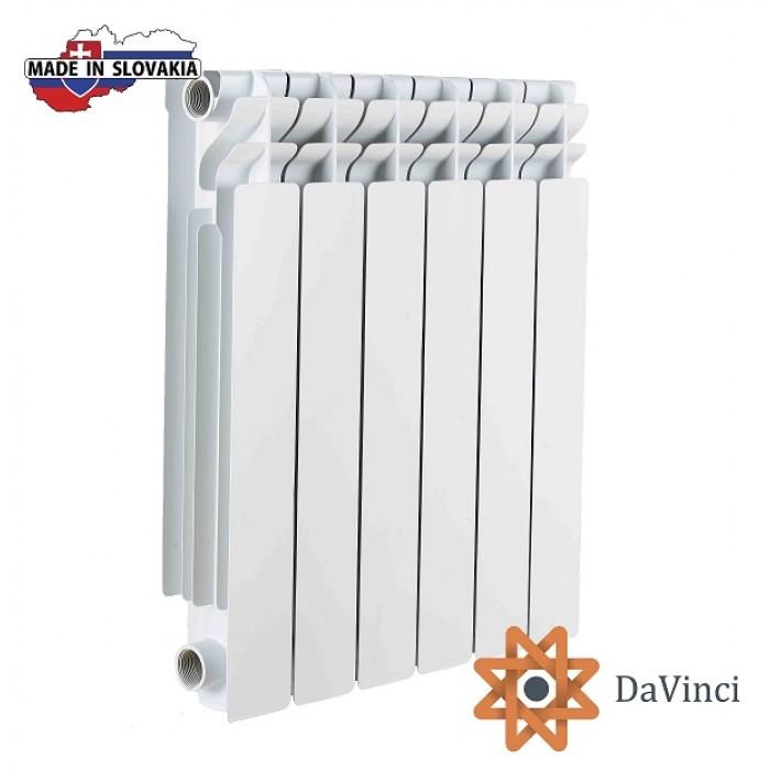 DaVinci Алюмінієвий радіатор 500/100