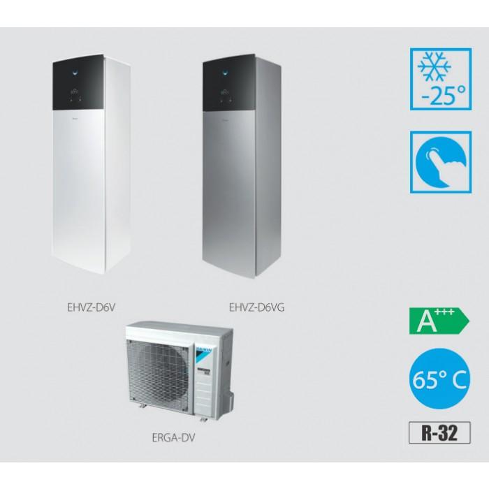 Daikin Altherma 3 EHVZ08S18D6V + ERGA06DV R32