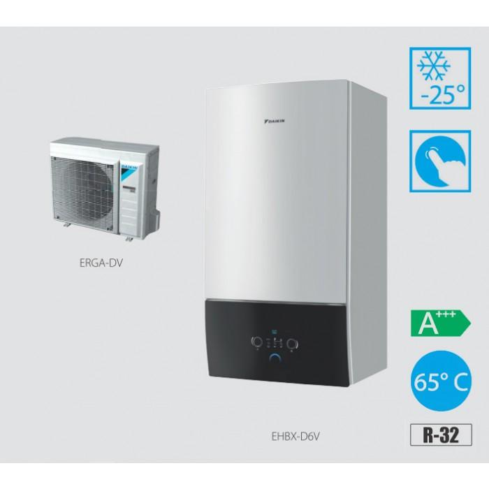 Daikin Altherma 3 EHBX08D6V + ERGA06DV R32