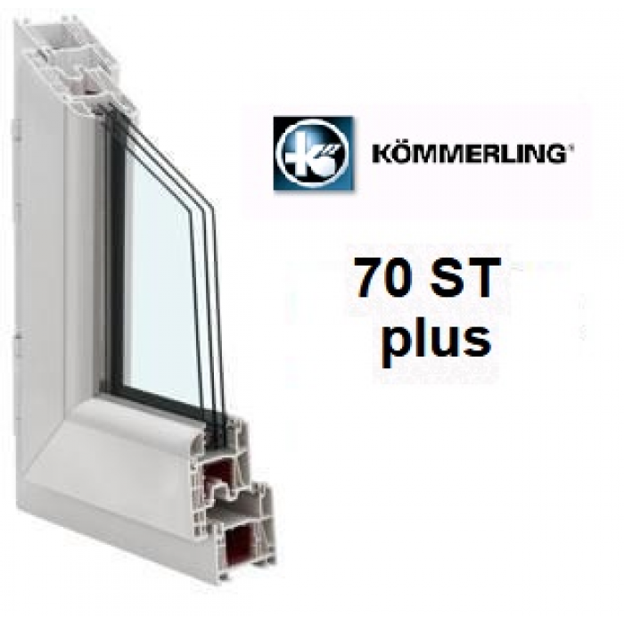 Kömmerling 70ST plus / 4Solar-10Ar-4-10Ar-4i