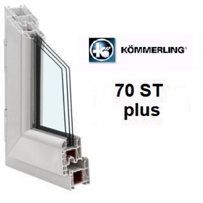 Kömmerling 70ST plus / 4Solar-12-4-14-4zero