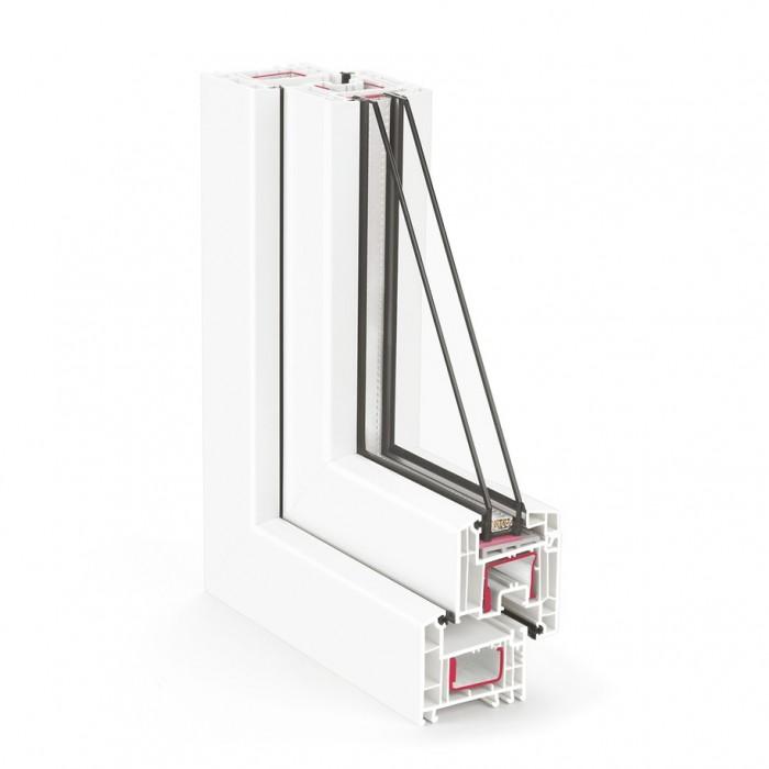 REHAU Korsa Design-70 / 4Clima-12-4-8Ar-4low-e