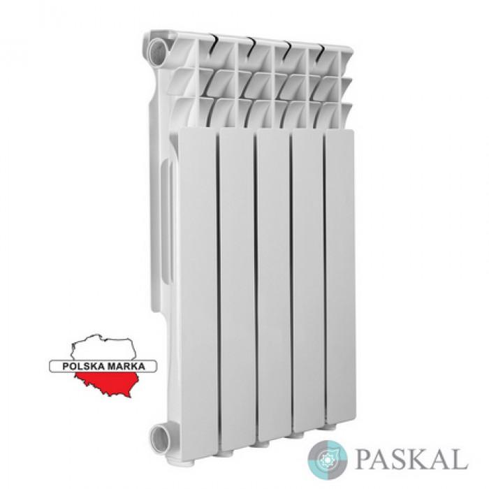 PASKAL Алюмінієвий радіатор 500/100
