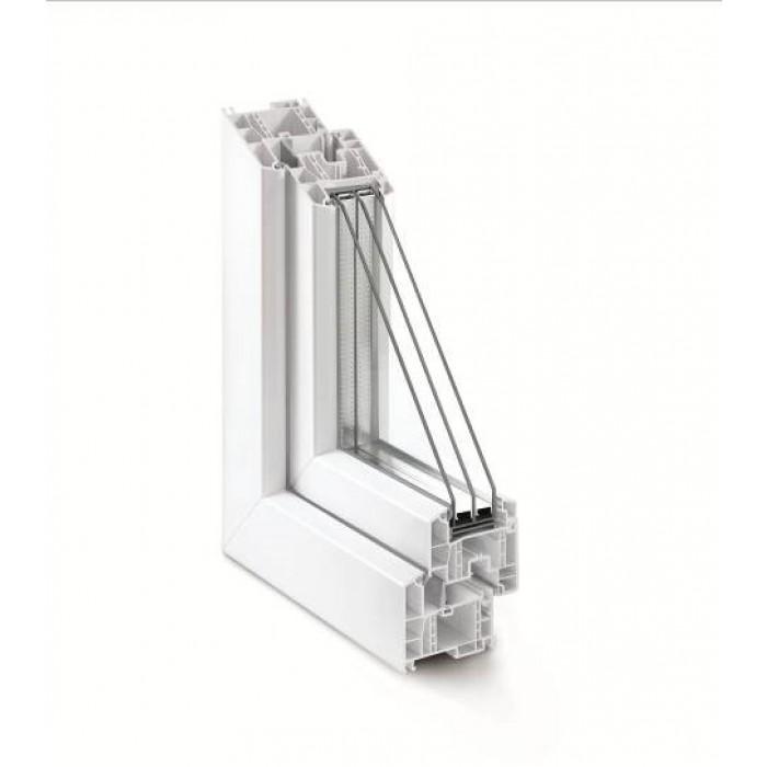 Rehau Euro-Design 70 / 4sol-12-4-16Ar-4i (Windows)