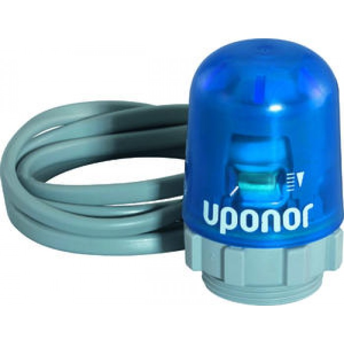 Uponor Vario PLUS Виконуючий механізм для пластикового колектору Pro NC НР 30x1,5 24 В