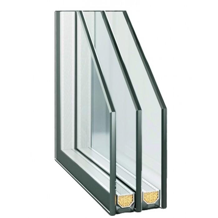 4Solar-16Ar-4-12Ar-4Low E / Glas Trösch