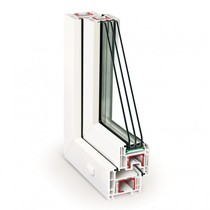 REHAU Ecosol Design 70 / 4-14Ar-4-14Ar-4i