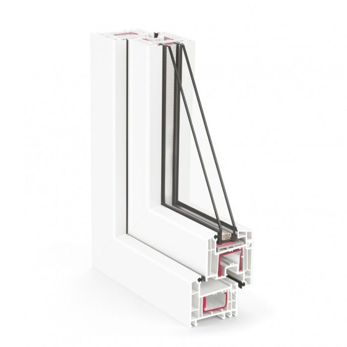 REHAU EURO Design-70 / 4-8Ar-4-12Ar-4low