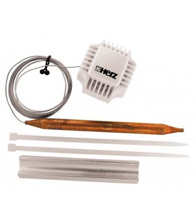 Термостатична головка HERZ з накладним датчиком ( для підлогового опалення)