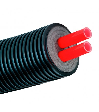 AUSTROISOL  90/2x25x2.3mm PE-Xa, SDR11
