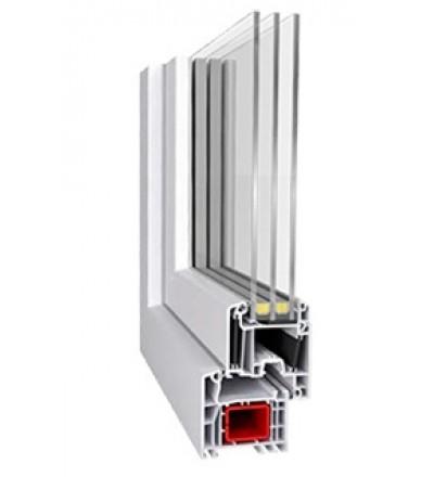 Premium energeto (Aluplast IDEAL4000 energeto) / 4mf-10Ar-4-10Ar-4i
