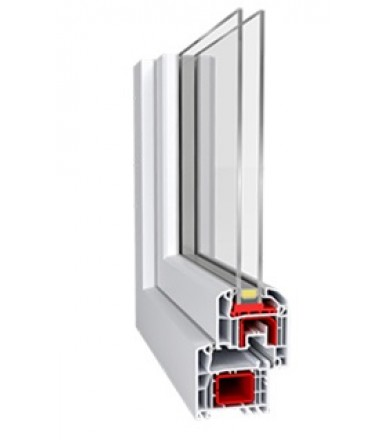 Termo (Aluplast Ideal 4000 euro) / 4mf-14Ar-4-14Ar-4i