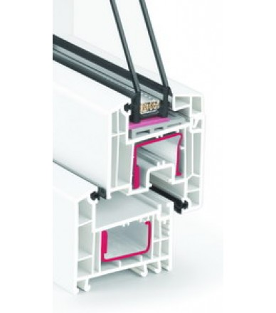 Rehau Euro Design 70  / 4i-16-4-12-4i