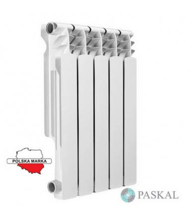 PASKAL Біміталевий радіатор 500/100