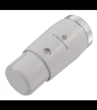 Термостатична головка Mini Diamant біла