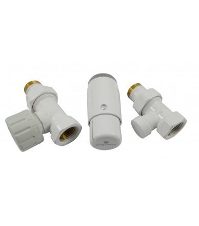 Комплект термостатичний Standard Mini прямий білий