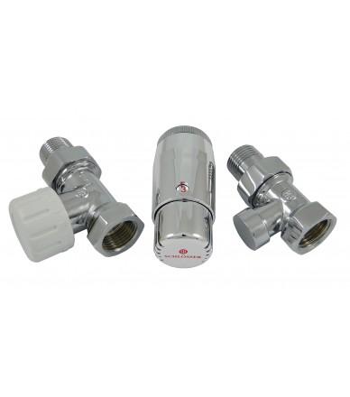 Комплект термостатичний Standard Mini прямий хром