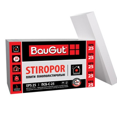 BauGut Stiropor EPS 25 (100 мм)