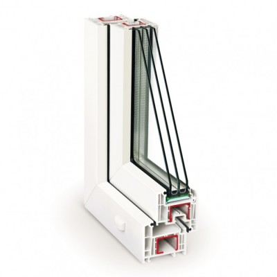 REHAU Euro-Design 70 /  4Solar-12Ar-4-8Ar-4i