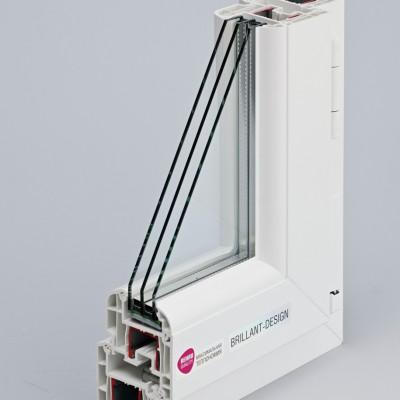 REHAU Brillant-Design Z 98 / 4i-16Ar-4-12Ar-4і