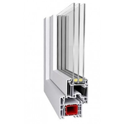 Premium energeto (Aluplast IDEAL4000 energeto) / 4i-14Ar-4-14Ar-4i