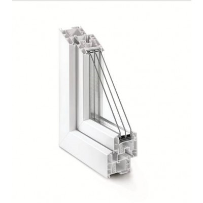 Rehau Euro-Design 70 / 4sol-12-4-16Ar-4i (Windows)