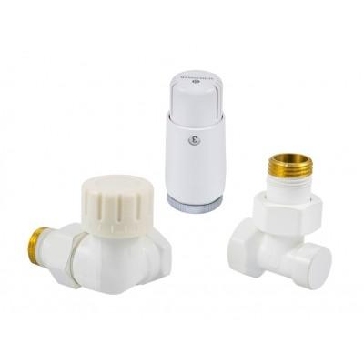Комплект термостатичний Standard Mini осьовий лівий білий
