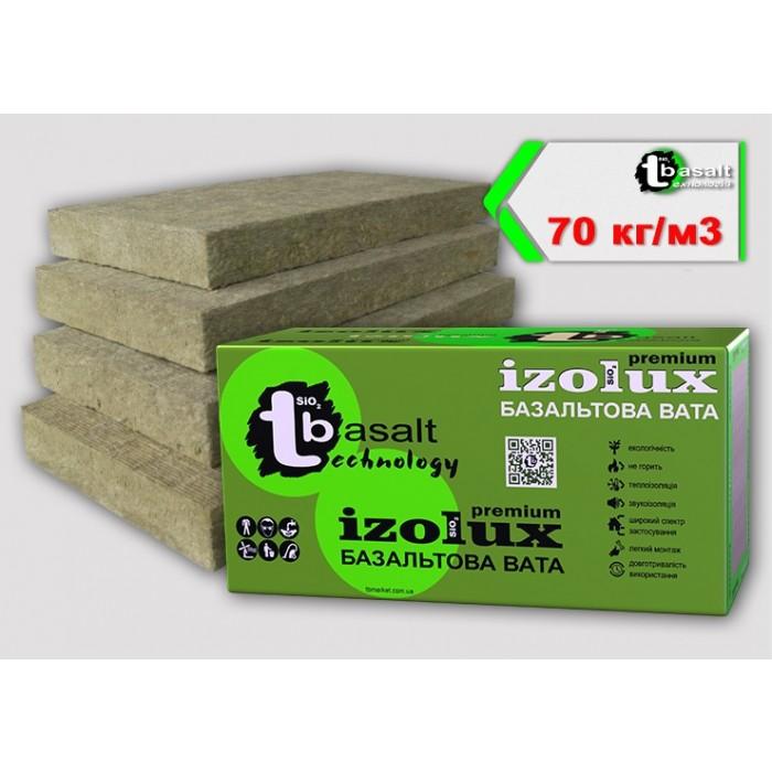 """Плиты """"Izolux Premium"""" 70 утепления вентилируемого фасада (100 мм)"""