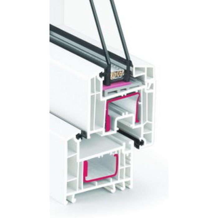 Rehau Euro Design 70 / 4solar-16-4-12-4i