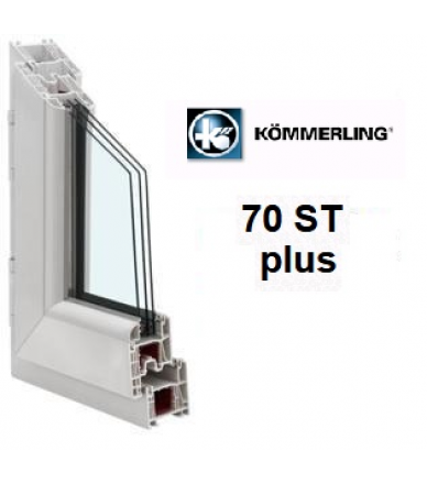 Kömmerling 70ST plus / 4Solar-10-4-10-4i