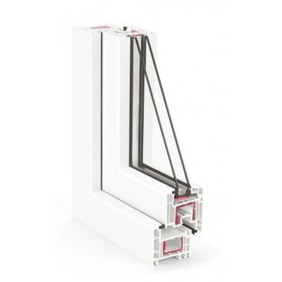 REHAU Euro Design 70 / 4Select-12Ar-4-8Ar-4i