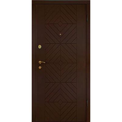 """Входные двери серии """"Лидер-2"""" - фасон """"Модель 8"""""""