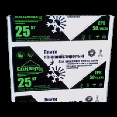 Пенополистирол EPS-50/0.035 ПСБ-25NT (150 мм)