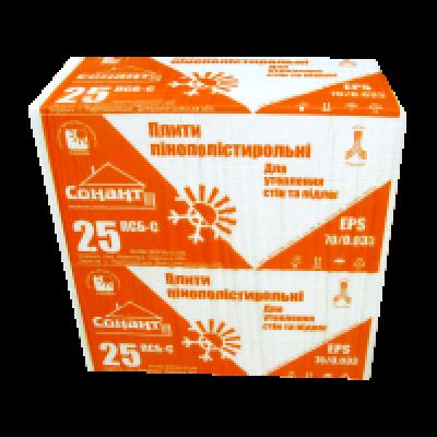 Пенополистирол EPS-70/0.033 (100 мм)