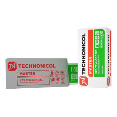 Плиты пенополистирольные экструзионные ТЕХНОПЛЕКС/ TECHNOPLEX 1200х600х20 (20 мм)